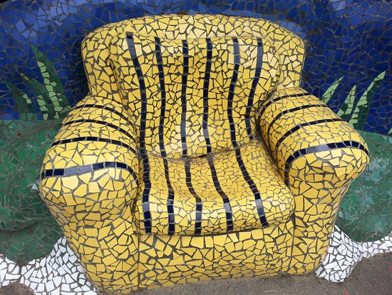 Taupo, New Zealand: Arm chair