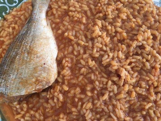 Los Belones, Spain: Excelente arroz y marisco