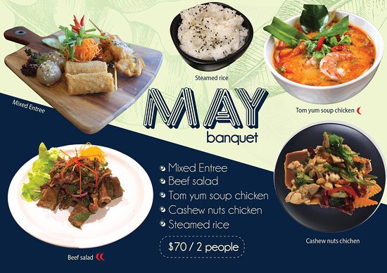 Richmond, Australien: Banquet of May ...available from 1st May 17