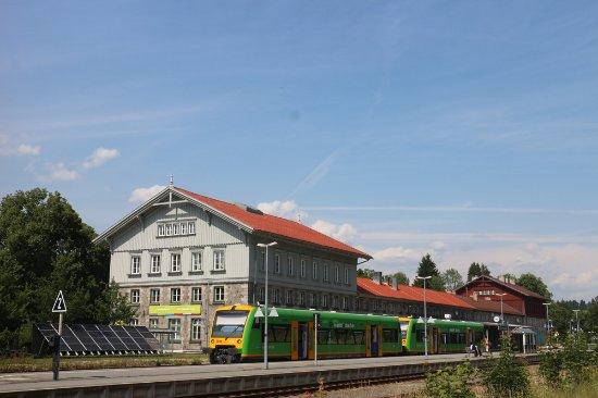 Die NaturparkWelten im Grenzbahnhof Bayerisch Eisenstein