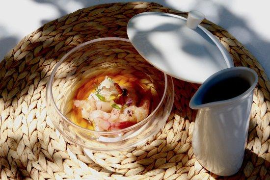 Restaurant Sant Pere del Bosc: Appetizer Menú 3 / 2017