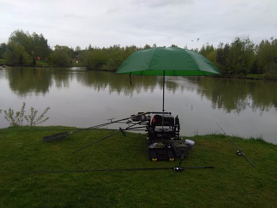 Selby, UK: Time for some fishing