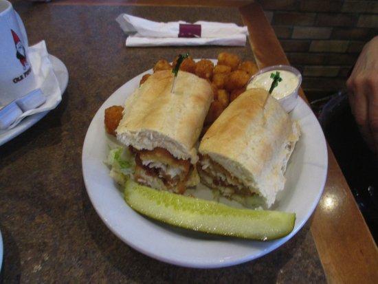 Blaine, MN: Walleye Sandwich