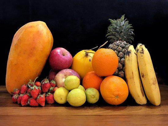 fresh heathy seasonal fruits picture of the milk bar yangon