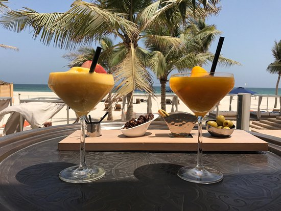 Al Mina Restaurant & Bar at Al Baleed Resort by Anantara: Great