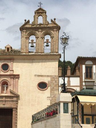 Archidona, Spania: Nog een prachtige kerk in het centrum