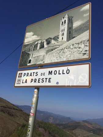 Prats de Mollo la Preste, Francia: panneau d'indication