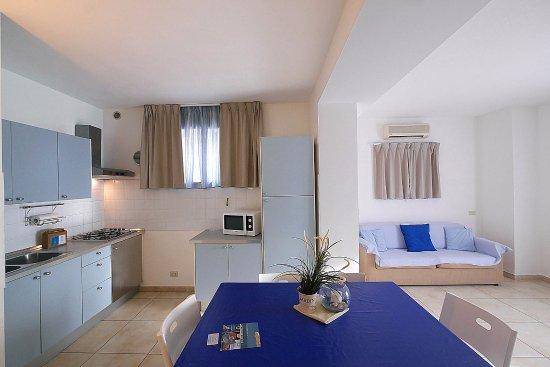 soggiorno e angolo cottura - foto di residence villa livia, san ... - Soggiorno E Angolo Cottura
