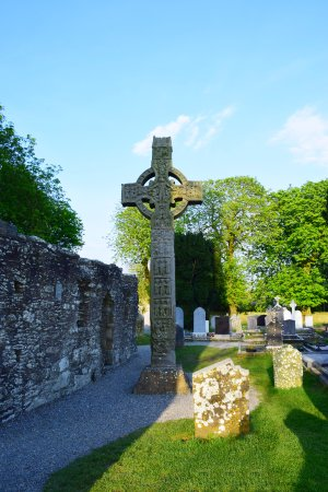 County Louth, Irlanda: cruz