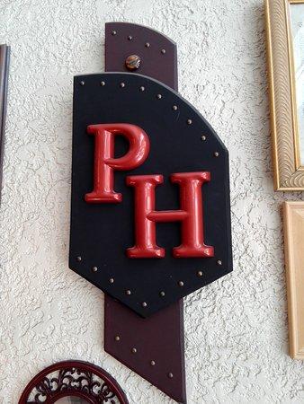 Palace Hotel: Initialen als Wanddeko