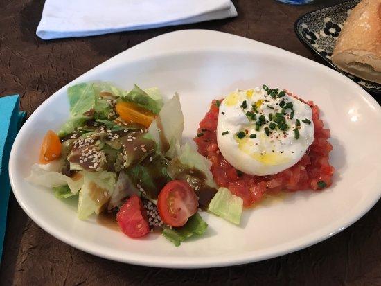 Aime, France: Excellent déjeuner ! Service très pro et les produits sont frais.