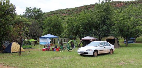 Waterberg, África do Sul: Campsite/caravan area