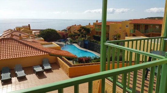 La Caleta: Shows view from 217 dining room is behind left handside tree