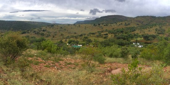 Waterberg, África do Sul: View from top of mountain