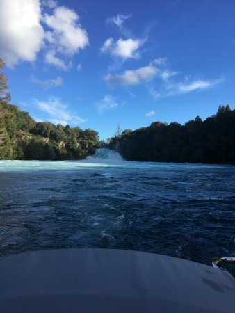 Taupo, New Zealand: On our way back from the falls