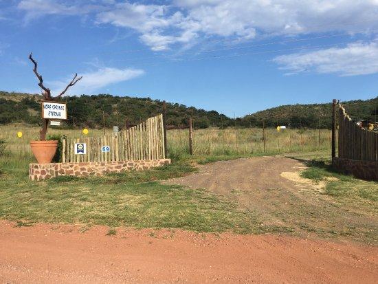 Waterberg, África do Sul: Gate entrance