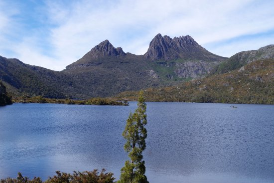 Cradle Mountain-Lake St. Clair National Park, أستراليا: Dove Lake with Cradle Mountain in background