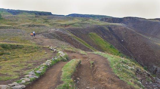 Hallormsstadur, Islandia: La maravillosa vista al final de camino vale la pena..