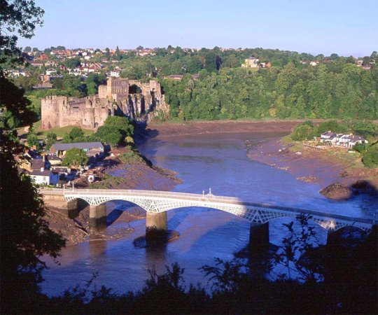 Tintern, UK: Close to Chepstow Castle
