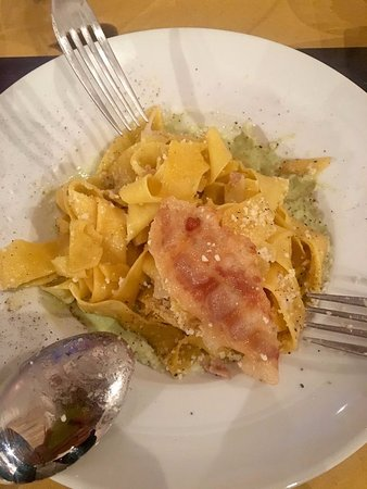 Pietralunga, Italien: Pappardelle fatte in casa
