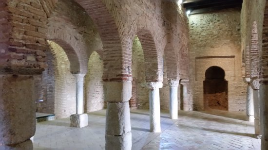 Almonaster La Real, Spanyol: Pillars inside the mosque