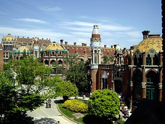 Barcelonina : Sant Pau Recinte Modernista