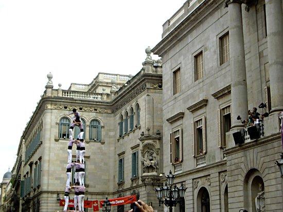 Barcelonina : Plaça Sant Jaume Barcelona