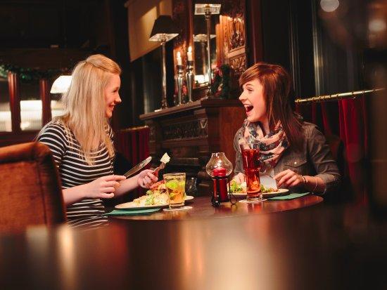 Kalajoki, Suomi: Dinner with friend!