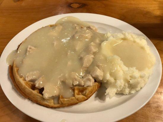 Alexandria, Pensilvanya: Chicken and Waffles