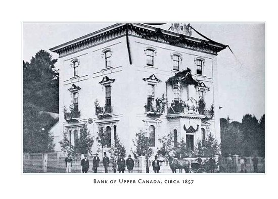 Port Hope, Kanada: Upper Bank of Canada 1857
