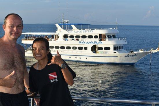 Чалонг, Таиланд: Me with Kwan, the trip leader