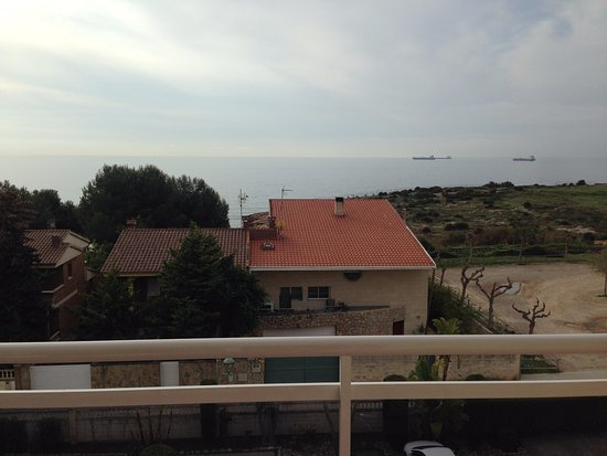 Hotel Sant Jordi: View from the room balcony.