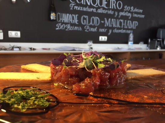 Burriana, Hiszpania: Tartar de atún