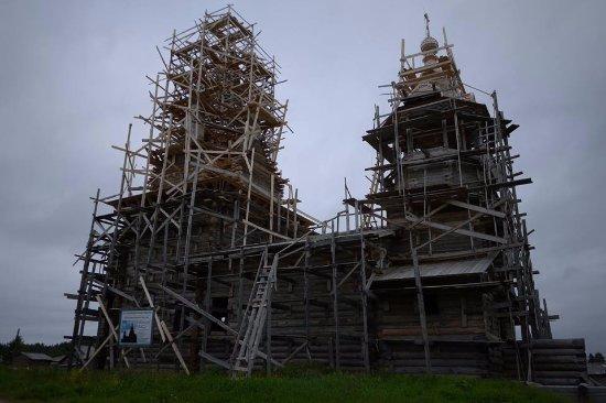 Kimzha, Russia: На реконструкции