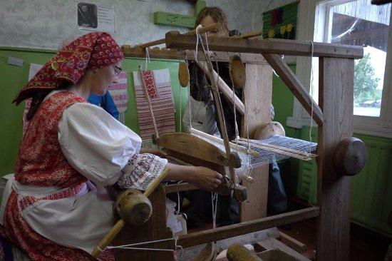 Kimzha, Russia: внутри музейчика