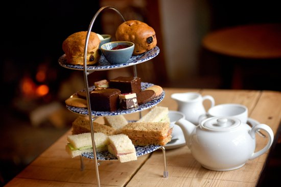 Westleton, UK: Afternoon tea