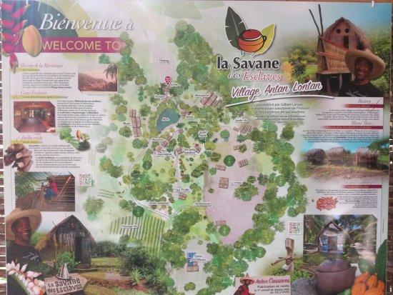 Trois-Ilets, Martinique: Plan du site
