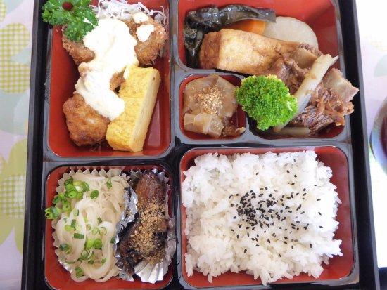 Oshima-gun Kikai-cho, Japan: 昼食の弁当