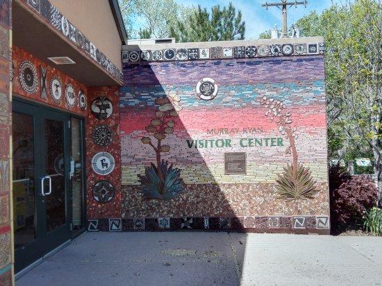 Silver City Visitor Center: Eingang zum Visitor Center