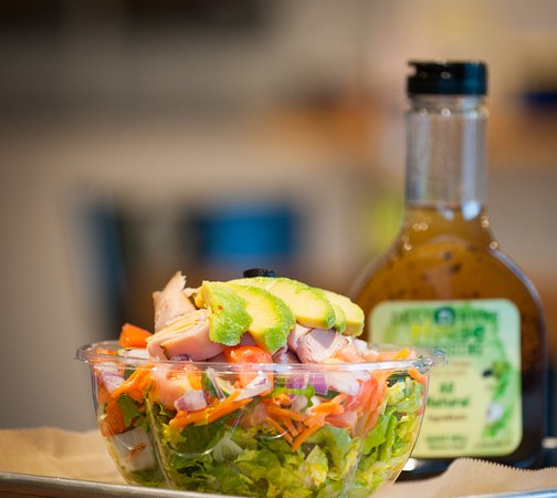 Cleveland, TN: Fresh salads made to order. Try our house dressing made from scratch on premises.