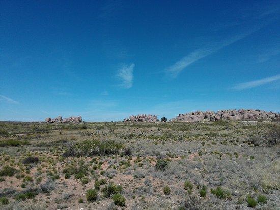 City of Rocks State Park: die City im Rückblick