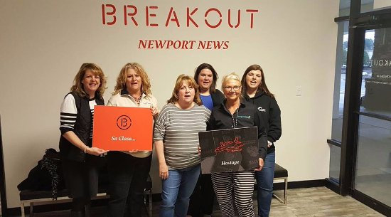 Newport News, VA: Our team tried real hard!!!!