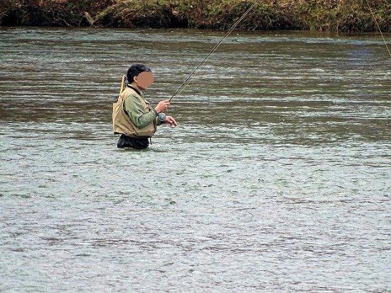 Norcross, GA: man fishing