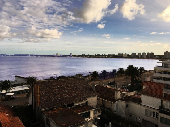 Hotel Castilla: ista de La Mansa desde una suite