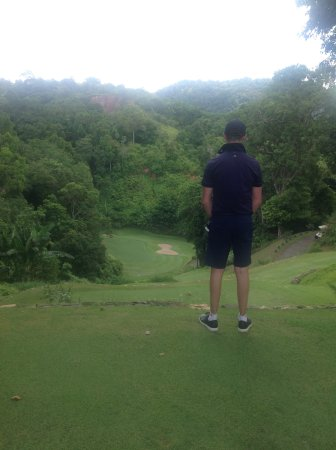 Rawai, Ταϊλάνδη: 17th at red mountain golf club