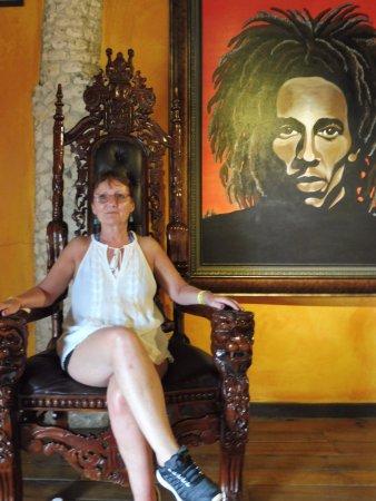 Bob Marley's Mausoleum: A Bob Fan!
