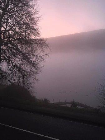 Spean Bridge, UK: A misty morning