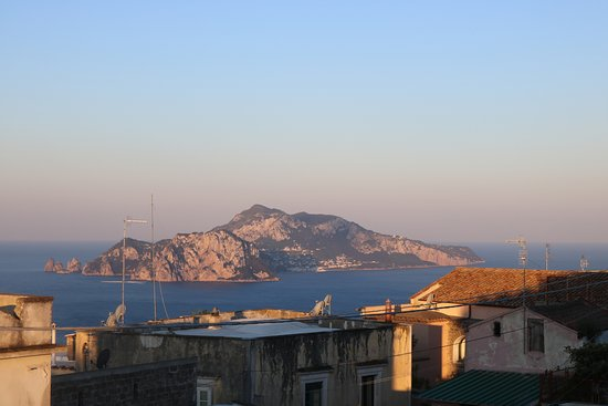 Hotel Caruso: View from Balcony