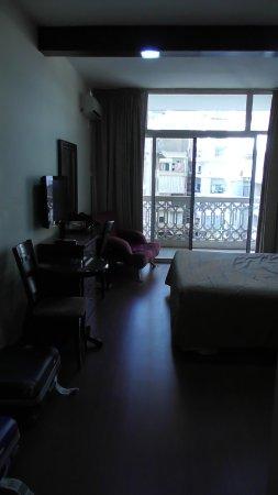 Mozart Hotel : lunghezza stanza