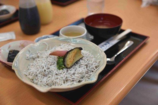 Aki, Japan: しらす丼セット
